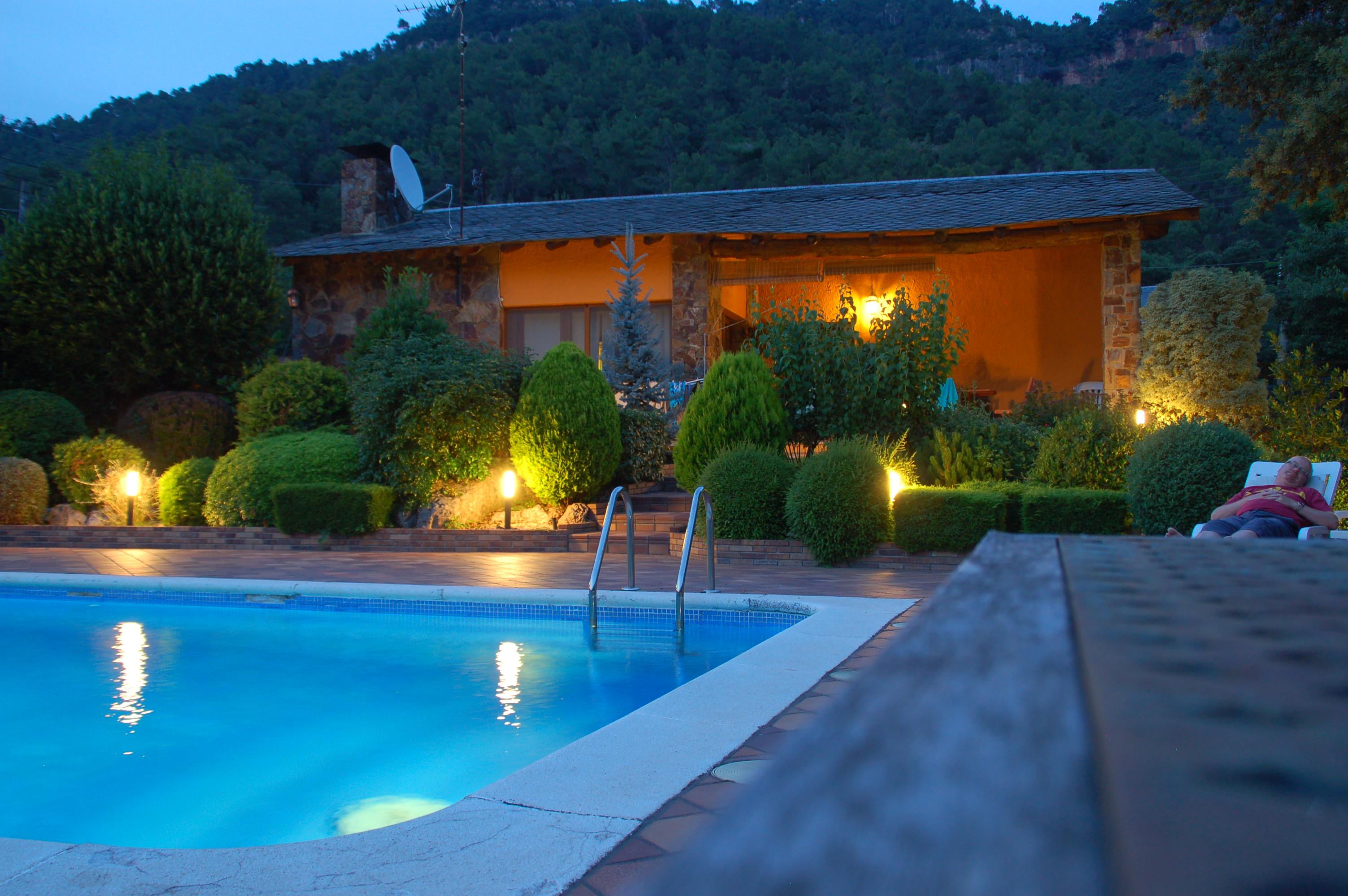 Hot Villa evenings...